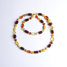 Brand pure natural Baltic amber beeswax multi-treasure with the necklace exquisite chic authentic luxury nine more jewelry  недорого