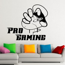 New arrival Free Shipping Gaming Mouse Wall Decals Video Games Gamer Removable Vinyl Stickers Waterproof wallpaper