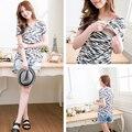 Maternidad superior de enfermería moda amamantar T-shirt de verano Tee para mujeres embarazadas 3 colores 2016 nuevo estilo