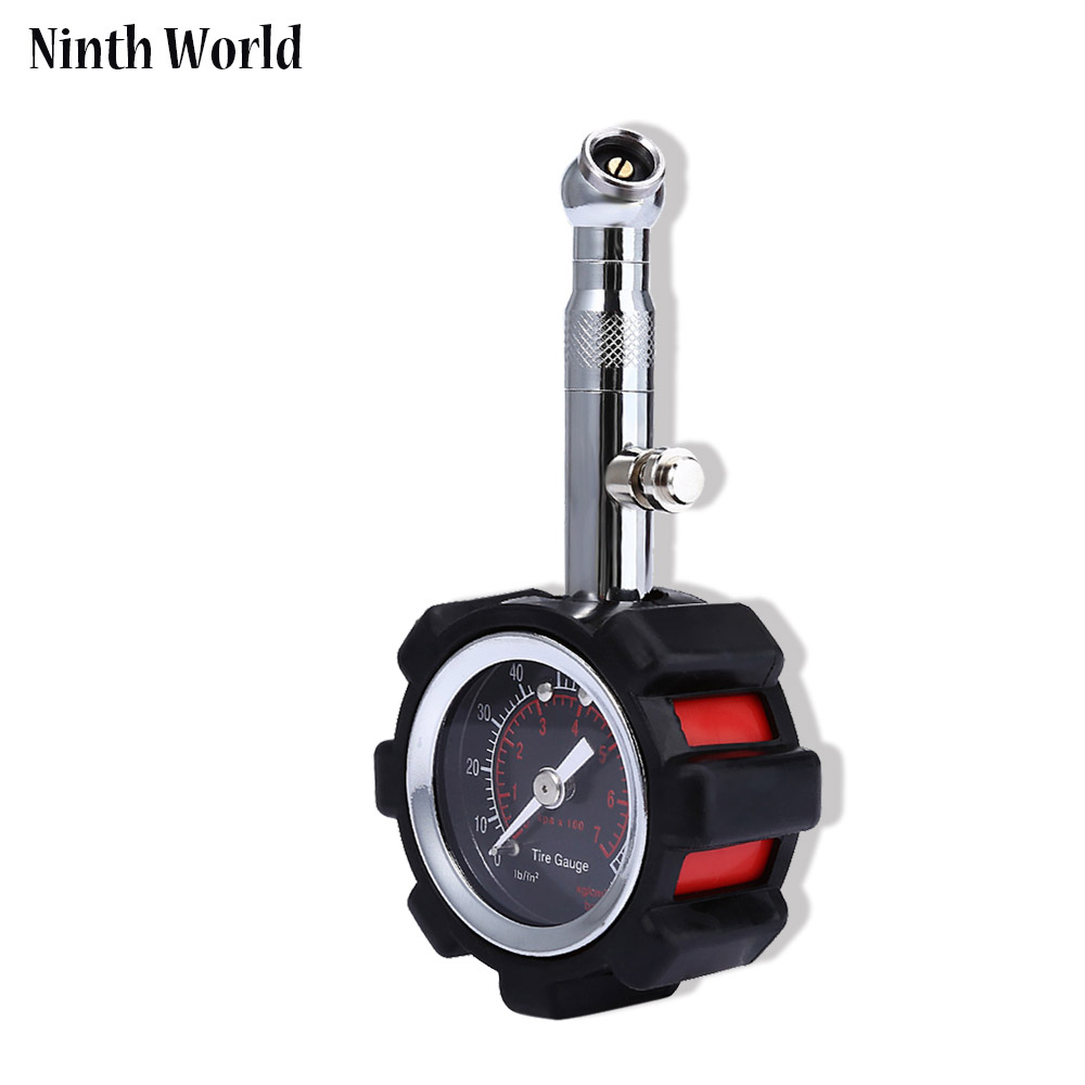 Ninth World Car Tire Pressure Gauge Stainless Steel Automobile Accessories Tyre Air Pressure Gauges