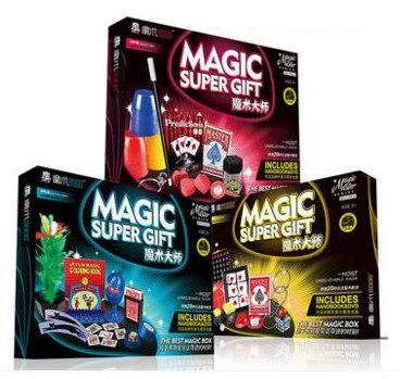 Classique enfants tours de magie set jouets super haute qualité avec manuel DVD tours de magie spectacle de scène cadeau pour les enfants - 5
