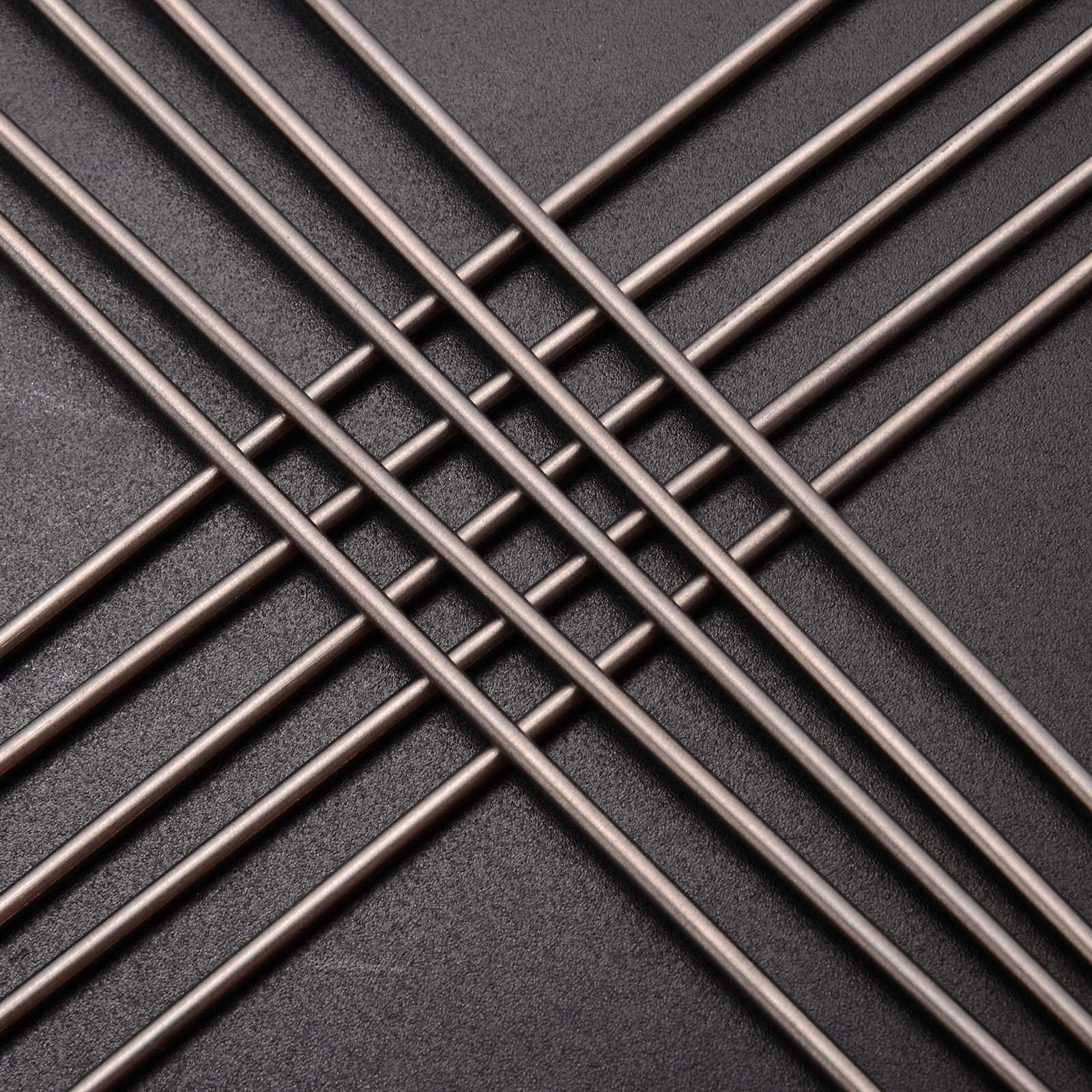 10pcs TC4 Titanium Rod 6al-4v Round Bar Ti Gr 5 Grade 5 Rods 2mm Diameter  250mm Length For Welding
