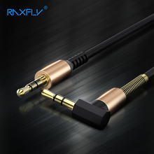 RAXFLY 3.5mm Aux Cable Male to Male Jack Audio Cable Stereo 2M Spring Line for iPod Car Home Theater DVD MP4 Aux Cable 2017 New