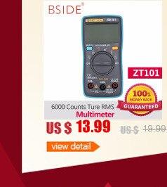 Digital AC DC Tensão corrente Resistência Capacitância Tester RM101
