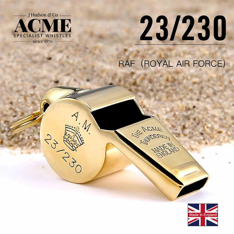 ACME II wojny światowej siły powietrzne gwizdek metalowy powietrza służby Royal data data powrotu (okolicznościowa edycja złoty gwizdek