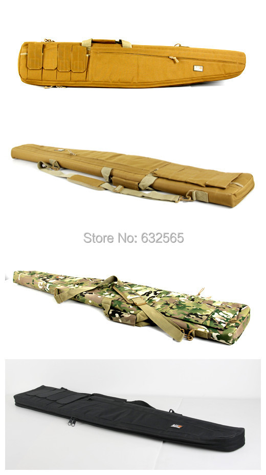120cm Tactical Airsoft Rifle bag Hunting Shooting Gun Bag Military Army Air Gun Weapons Rifle Case