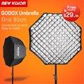 """Godox portátil 80 cm/32 """"umbrella + grade foto refletor softbox para o flash speedlight"""