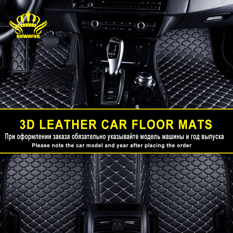3D Car Mats Luxury-Surround Leather Floor Mats For Mazda CX-5 3 6 Ford Hyundai Peugeot Volvo Volkswagen Renault Skoda Nissan