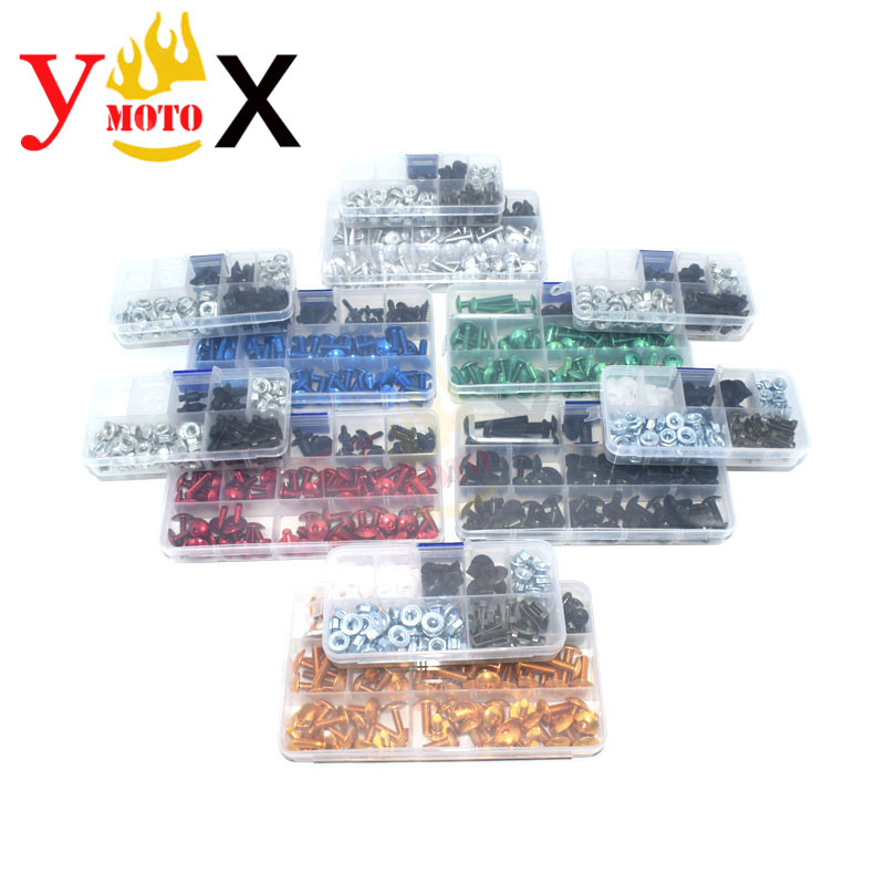 233pcs Motorcycle M4 M5 M6 Fairing Bodywork Screw Bolt Fastener Clip Nut <font><b>Kits</b></font> For <font><b>SUZUKI</b></font> GSXR600 GSXR750 <font><b>GSXR1000</b></font> K5 K6 K7 <font><b>K8</b></font> K9 image