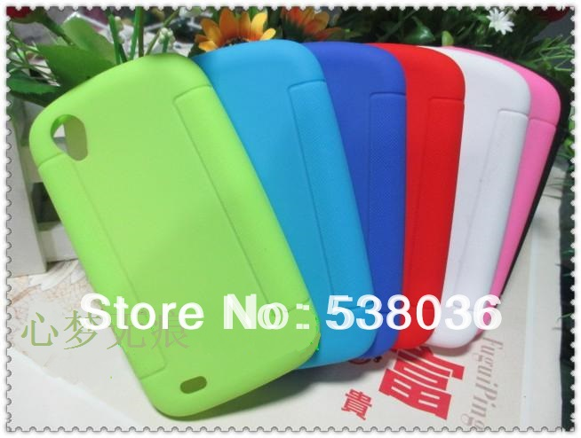Philips W832 phone Cover Back case soft silicone / new Good Quality Candy jelly color - Android mobile accessories store