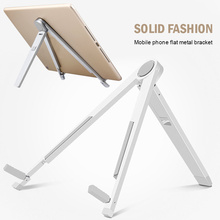 Universal Aluminum Alloy Triangle Folding Tablet PC Stand Support 7-10 inch