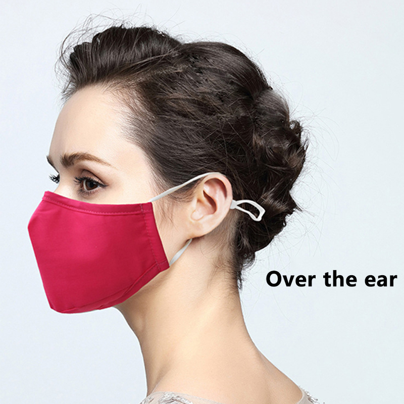 Fashion Cotton Dust Respirator Mouth Muffle Unisex Washable Anti Pollution Reusable Masks For Cycling Travel