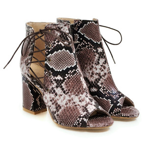 Image 3 - MORAZORA 2019 ใหม่มาถึงฤดูร้อนรองเท้า Peep Toe รองเท้าส้นสูงรองเท้า Lace Up + ซิปแฟชั่นรองเท้าผู้หญิงข้อเท้าสบายรองเท้าผู้หญิง