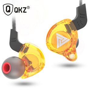 Image 2 - QKZ AK6 Headphones Earphone for Phone Xiaomi with Microphone for iPhone In Ear Earphone Stereo Race Sport Headset sport