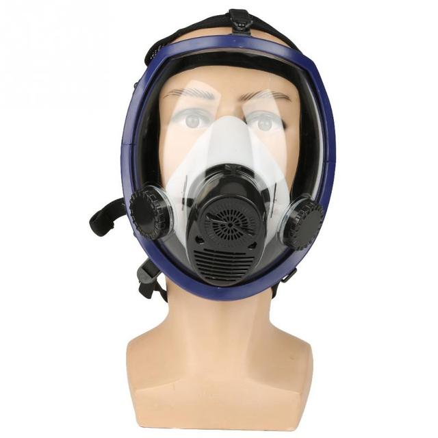 edb828026 Air Fed Supplied Gas Mask System Full Face Airline Respirator for Paint  Spraying Welding Tools
