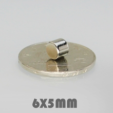 купить 30/50/100pcs 6x5 mm Neodymium Magnet Strong Round Magnets N35 Disc 6*5 mm Search Magnet Rare Earth Magnets For Crafts 6mmx5mm дешево
