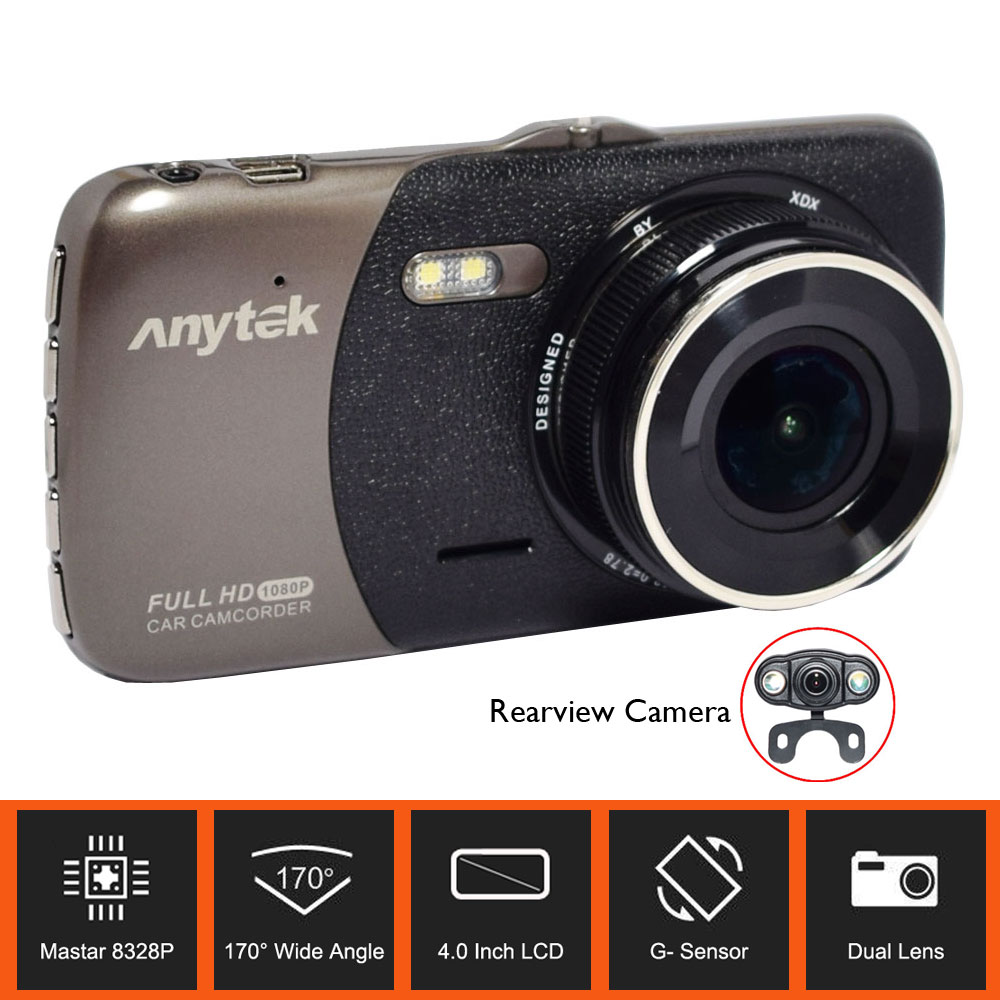 Original Anytek Car Camcorder B50H with 2K 4.0