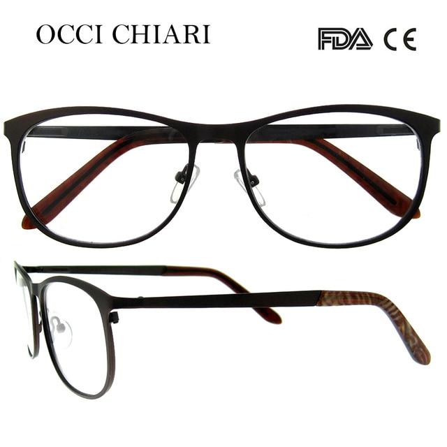 7b362b06e42 OCCI CHIARI Woman Eyeglasses Frame Glasses Optical 2018 New Fashion High  Quality Light Glasses Optical Frames