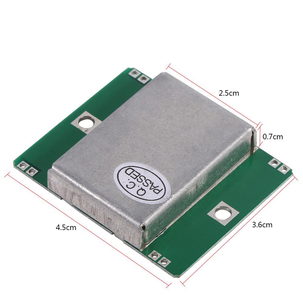 HB100 Microwave Motion Sensor Module Wireless 10 525GHz Doppler Radar  Detector New