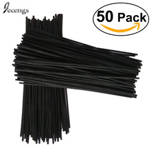 50 Premium Black  Rattan Reed Fragrance Diffuser Replacement Refill Sticks 300mm *3.5MM