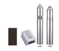 KOSHENG 3 дюйм(ов) 24 В 60 В 72 В DC безщеточный погружной винт солнечный насос с MPPT контроллер, 1 solar насос для домашнего использования