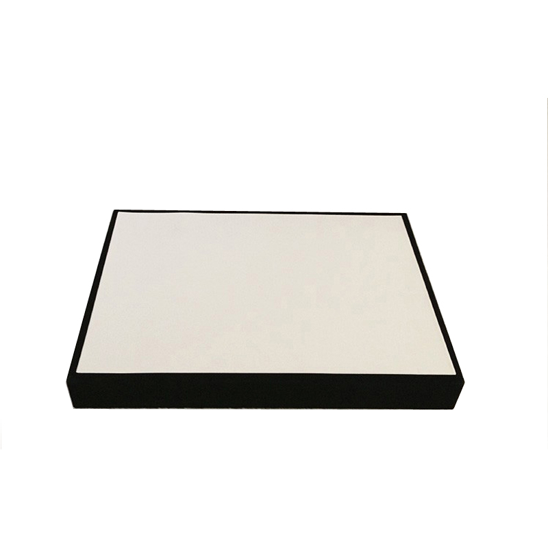 Quality White Leatherette Jewelry Display Flat Tray Stackable Case