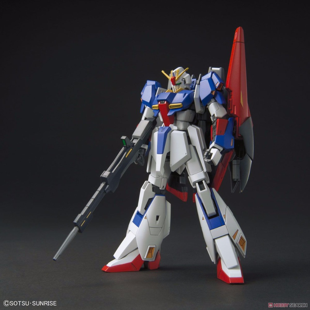 Bandai HGUC 203 Zeta Gundam model building Plastic model Toys Figure bandai bandai gundam model sd q version bb 309 sangokuden wu yong bian xiahou yuan battle