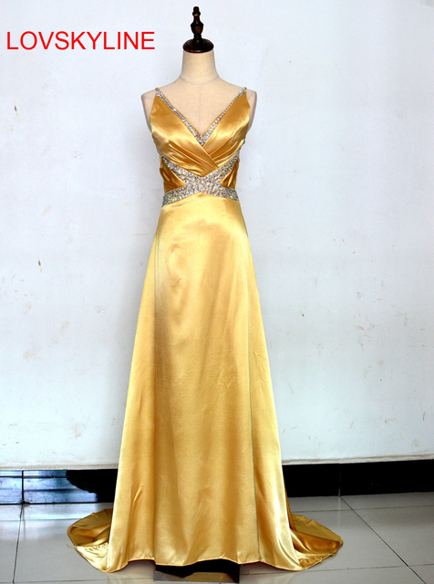 2018 New Design Banquet Red Blue Purple Gold Long Evening Dress