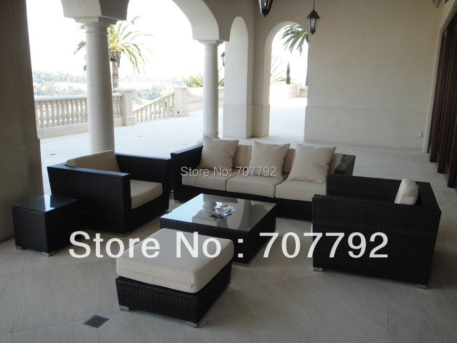fancy sofa sets bezug 100 polyester outdoor rattan sectional all weather set in garden sofas