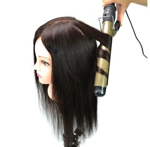 Formação de Cabeleireiro 100% Prática Cabelo Cabeça Treinamento Cabelo Humano Cabeça Cabeça Treinamento Manequim