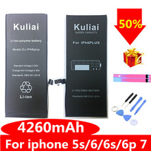 Get more info on the Brand New AAAAA Quality Phone Battery for iPhone 6S 6 6 plus  7  8 High Real CapacityZero Cycle Free Tool Sticker Kit