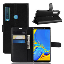 Flip Case for Samsung Galaxy A7 A9 2018 A6 A8 Plus Leather Wallet Cover Case for Samsung A3 A5 2017 A6S A8S A9 Star coque etui стоимость