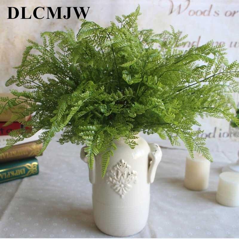 High Quality Artificial Plant Fern Simulation Plant Leaf Creative Plastic Green Plant Home Bedroom Wedding New Year Decoration
