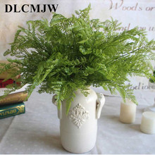 High quality artificial plant fern simulation leaf creative plastic green home bedroom wedding new year decoration