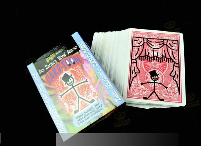 100% Quality Card-toon #1 - Card Magic,magic Tricks,mentalism,illusion,stage,street,close Up,fun,kids Magic,magic Show,toys