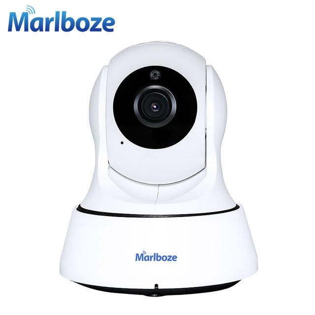 Marlboze 720 P HD Беспроводной Wi-Fi IP Камера охранных Камеры Скрытого видеонаблюдения ONVIF P2P ИК-P/T Ночное видение cctv Крытый Камера