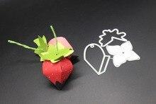 AZSG Delicate fruit Cutting Dies For DIY Scrapbooking Die Decoretive Embossing Stencial DIY Decoative Cards Die Cutter