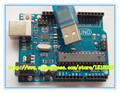UNO R3 para Arduino (com LOGOTIPO) 5 PCS UNO R3 MEGA328P ATMEGA16U2 + 5 PCS cabos