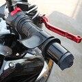 Novo plástico preto da motocicleta acelerador assist wrist rest cruise control grips para padrão grips para harley para honda para a yamaha