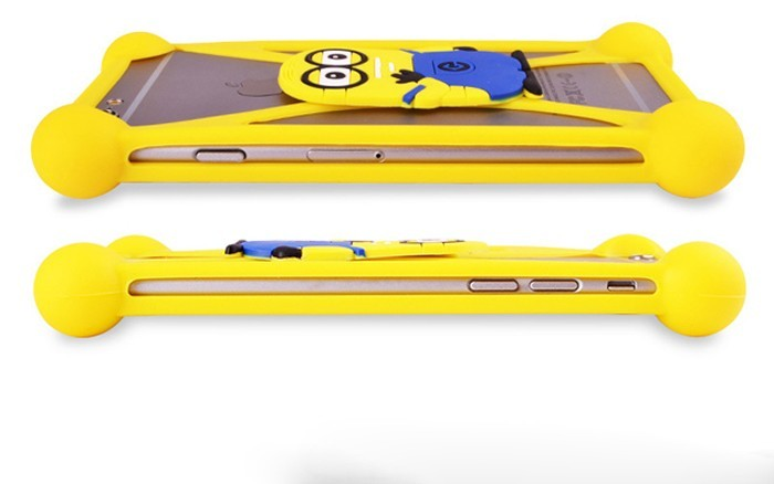 Super Cute Minion Silicone Universal Phone Cases