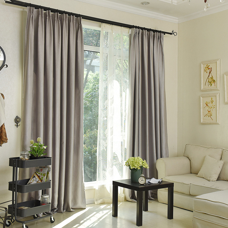 The Curtain Cloth Color Embossed Electric Carving Shade Multi color Choose  Curtains for Bedroom Living Room Kitchen-in Curtains from Home & Garden on  ...