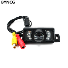 Auto Videocamera vista posteriore Auto Telecamera Per la retromarcia CCD HD IR Luce di Visione Notturna Impermeabile con la Linea di Parcheggio
