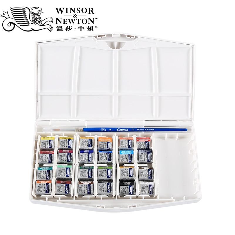 winsor & newtonWinsor & newton cotman 8/12/24/36/45 Colors Hs