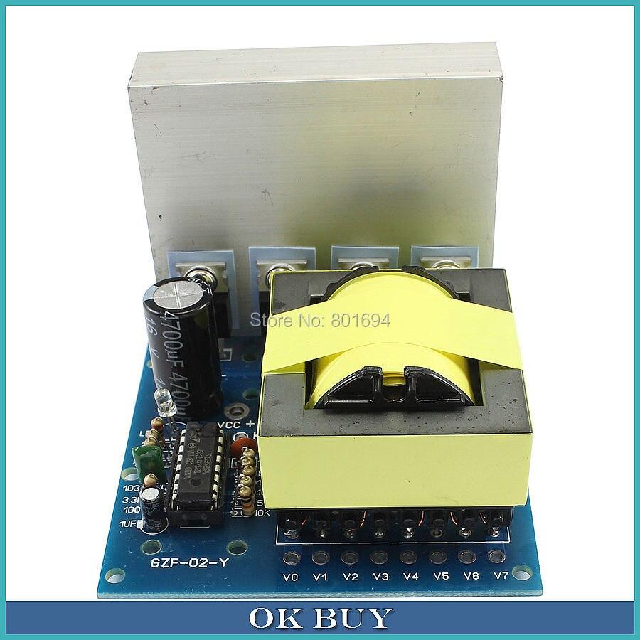 500 W DC12V À AC 18 V 0 ~ 160V ~ 220 V ~ 380 V DC-À-AC Onduleur Pré-amplificateur Boost Converter Module