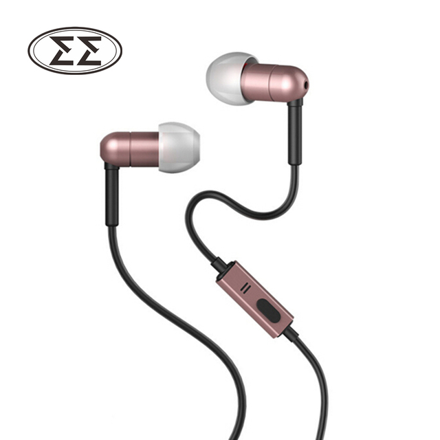 US $12 9 |100% Original Joyroom E107 In Ear Earphone 3 5MM Stereo In Ear  Headset Dynamic Earbuds Aerospace aluminum alloy Earphone-in Earphones &