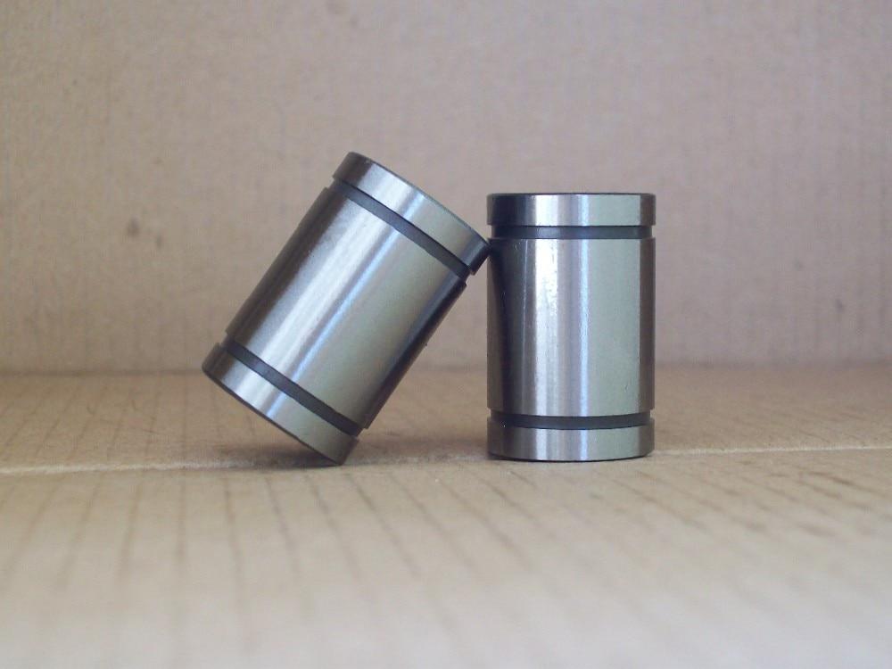 ФОТО LME80UU 80mmx120mmx165mm 80mm linear ball bearing bush bushing for 80mm rod round shaft 1pcs