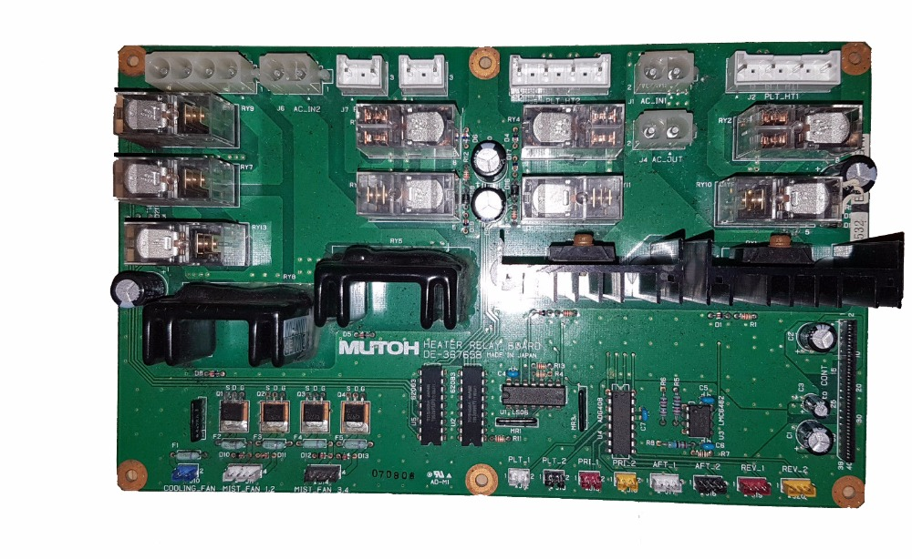 Original Mutoh VJ-1324 / VJ-1624 / VJ-1638 Heater Relay 3 Board DG-43169 песни для вовы 308 cd