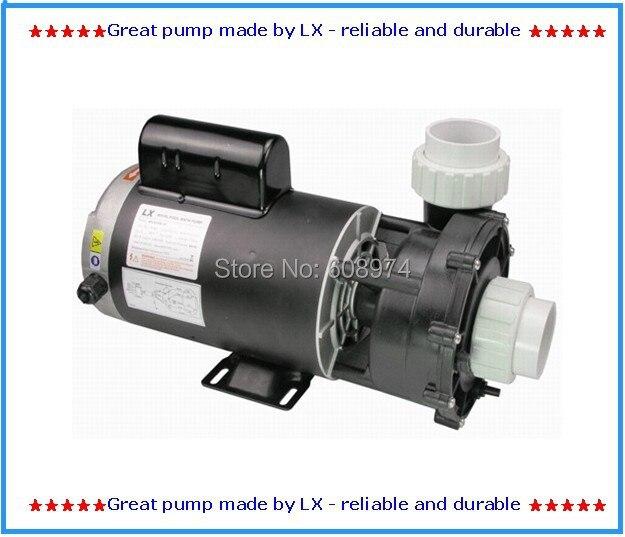 Pompe de piscine et de spa LX WUA200-II 2 hp 2 vitesses, 230 v avec 2 vitesses, adapté au remplacement de l'équipement de spa économiseur d'énergie en amérique du nord