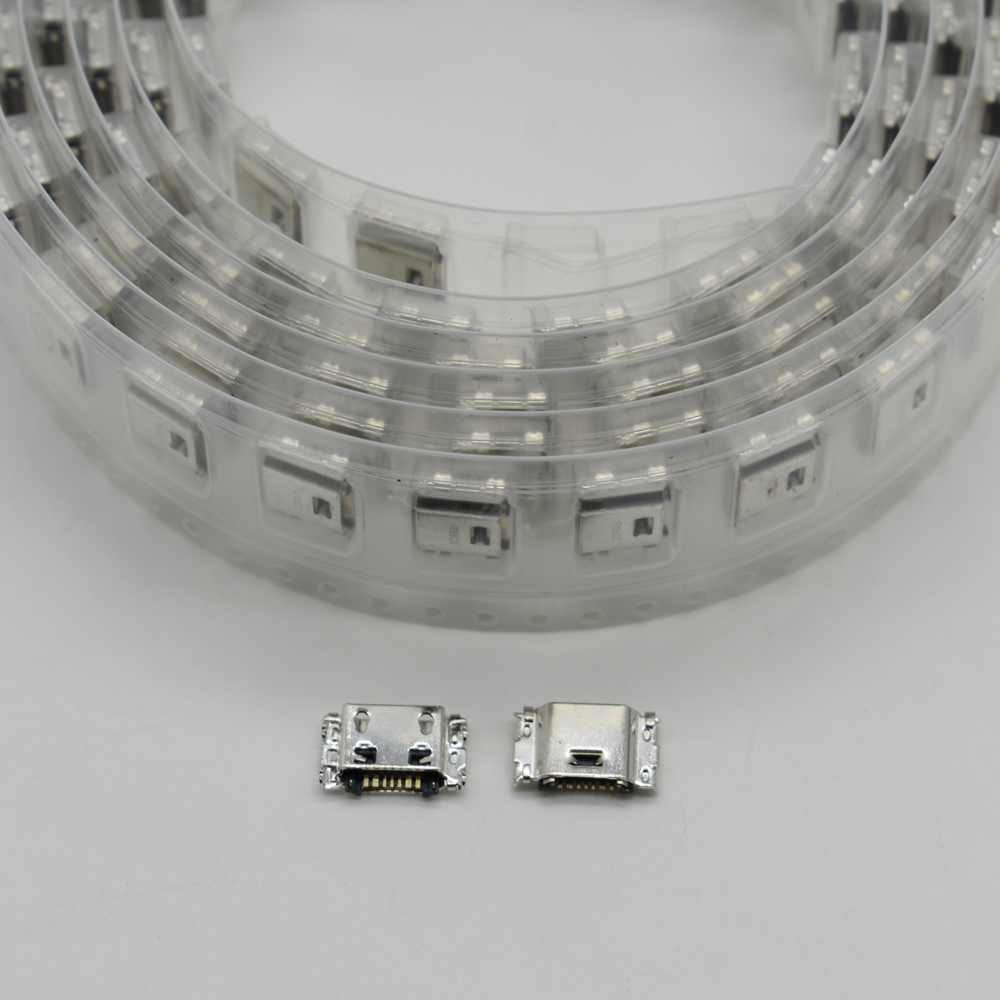50PCS/Lot Micro USB Charging Port Jack Socket Charger Connector Dock For Samsung J5 J500 SM-J500 J1 J100 SM-J100 J3 J300F J7