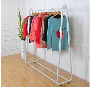 tienda online perchero de hierro forjado piso percha interior estante ikea europeo moda creativa tienda de ropa estante de la ropa aliexpress mvil